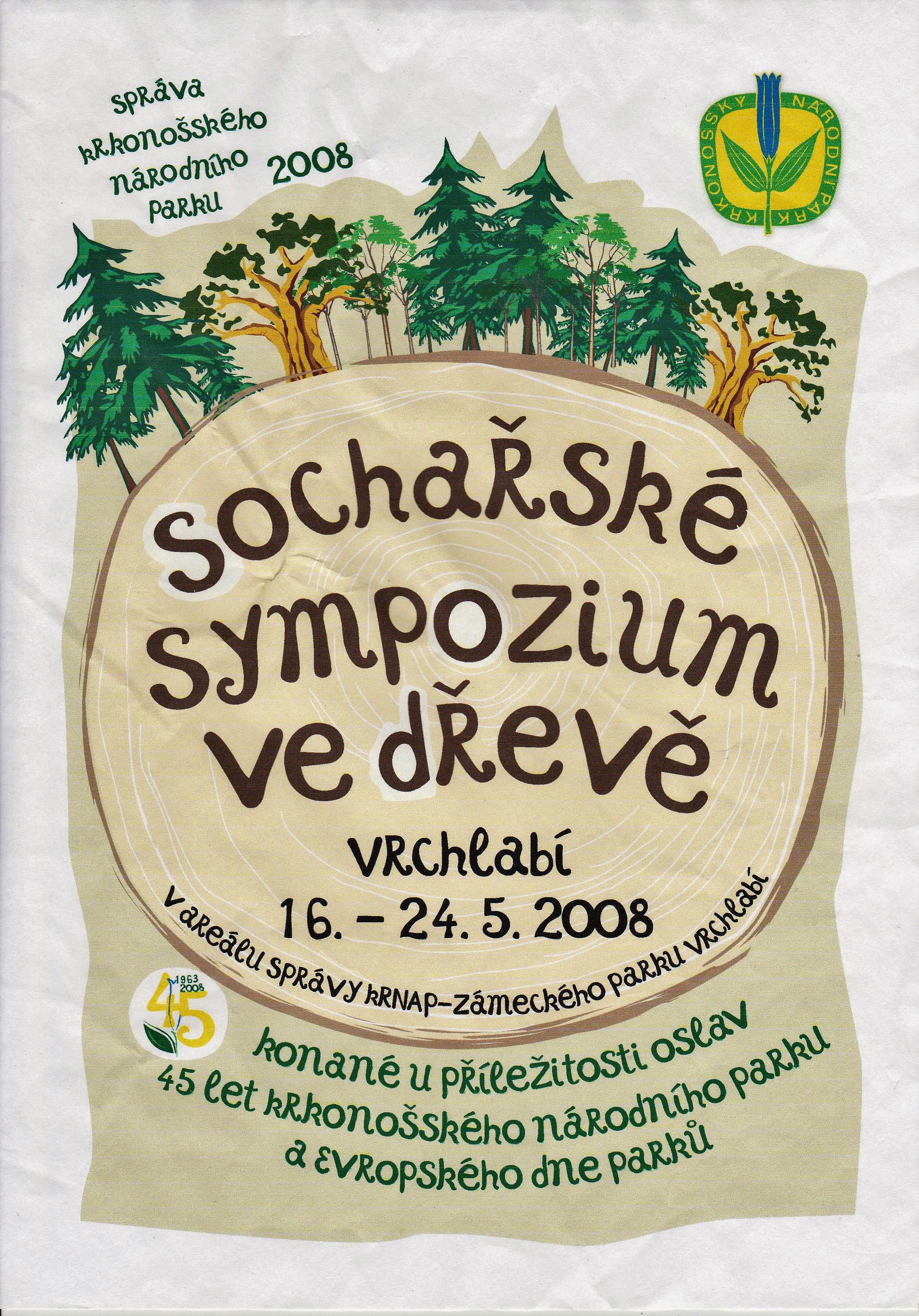 SOCHAŘSKÉ SYMPOZIUM <br />VE DŘEVĚ -Vrchlabí 2008